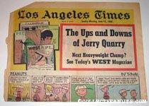 L.A. Times June 15, 1969 Comics Section