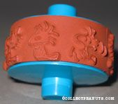 Woodstock poses Roller Rubber Stamp