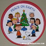 Peanuts around Tree Tray