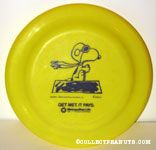 Snoopy Flying Ace on doghouse Metlife Flying Disc