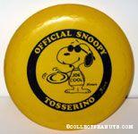 Joe Cool Tosserino Flying Disc - Yellow