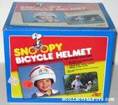 Snoopy hugging Woodstock under rainbow Bike Helmet