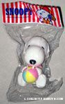 Baby Snoopy holding ball Squeaky Toy