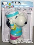 Snoopy wearing Aerobics outfit Squeaky Toy
