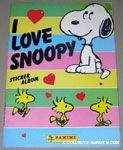 Peanuts & Snoopy Panini Stickers