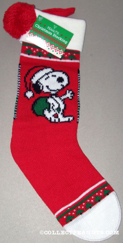 Peanuts amp snoopy christmas stockings collectpeanuts com
