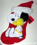 Snoopy hugging Woodstock Stocking