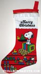 Snoopy and Woodstocks playing with Toys Christmas Stocking