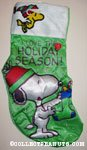 Snoopy & Woodstock 'Tis the Season' Christmas Stocking