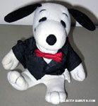 Snoopy in Tux Stuffed Animal