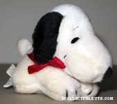 Snoopy laying on tummy Stuffed Animal