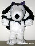 Vampire Snoopy Plush