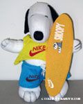 Snoopy Nike surfer Plush