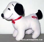 Snoopy standing on all four Plush from Knott's Berry Farm