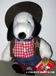 Snoopy Cowboy limited edition 1993 Plush