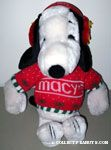 Snoopy wearing sweater and Woodstock ear muffs Plush