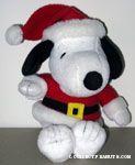 Santa Snoopy Beanie