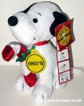1950's Snoopy 60th Anniversary Plush
