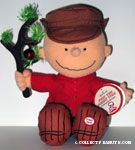 Charlie Brown with Christmas Tree Plush Doll