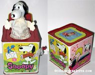 Snoopy in the music box