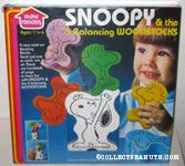 Snoopy and the 5 Balancing Woodstocks