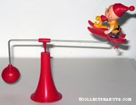 Charlie Brown & Woodstock on Skis Balance Toy