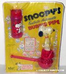 Snoopy's Fantastic Automatic Bubble Pipe - Red Bubble Bottle