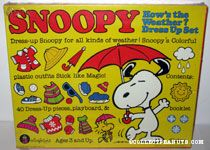 Snoopy How's the Weather Dress Up Colorforms Set