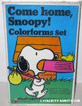 Snoopy Come Home Colorforms Set