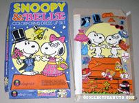 Snoopy & Belle Colorforms Dress Up Set