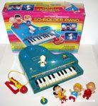 Schroeder's Piano - Blue