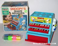 Snoopy Shape Register