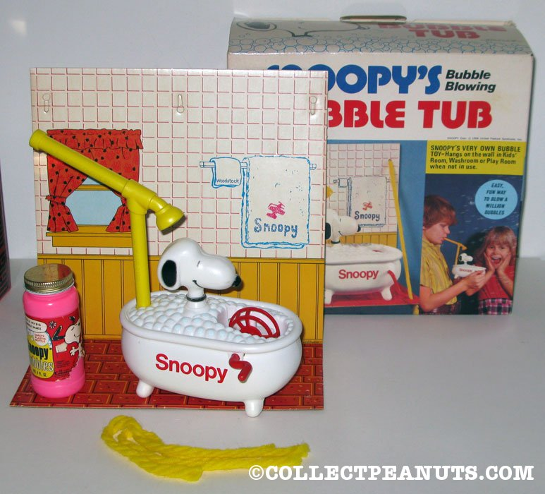 Snoopy's Bubble Tub