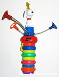 Snoopy & Woodstock Light Up Spinning Toy