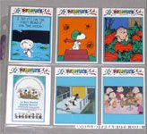 Peanuts Preview Edition Trading Cards 28-33