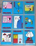 Peanuts Classics Series 1, 55-63 Trading Cards