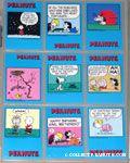 Peanuts Classics Series 1, 190-198 Trading Cards