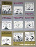 Peanuts Classics Series 2, 244-252 Trading Cards