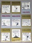 Peanuts Classics Series 2, 307-315 Trading Cards