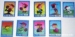 Peanuts All-Stars Trading Cards Ziploc Premium