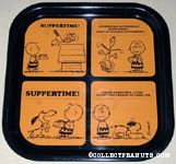 Snoopy & Charlie Brown Suppertime Tray
