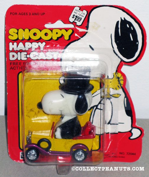 Peanuts Aviva Happy Die Cast Cars Collectpeanuts Com