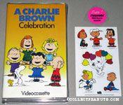 A Charlie Brown Celebration VHS Video