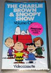 The Charlie Brown & Snoopy Show Volume 1 VHS Video
