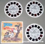 Snoopy and the Red Baron Viewmaster Reels
