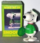 Tennis Snoopy Wind-up Mini Walker