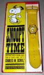 Snoopy Dancing on yellow watch