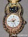 Gold Peanut Shell cover Watch
