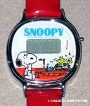 Peanuts & Snoopy Q & Q Watches