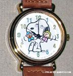 Snoopy with pawpets and googly eyes Watch